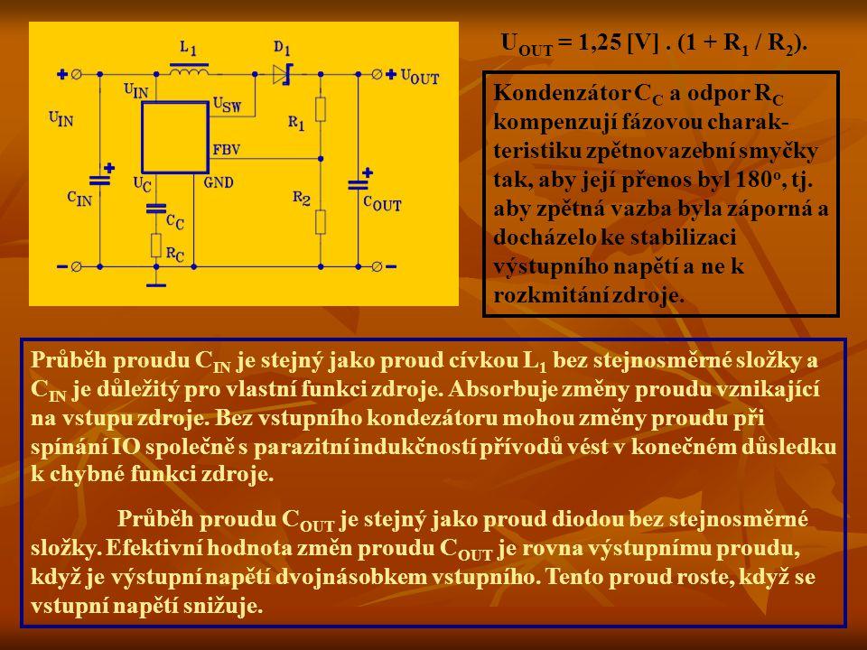UOUT = 1,25 [V] . (1 + R1 / R2).